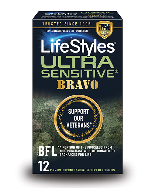 Lifestyles Ultra Sensitive Bravo - Pack of 12