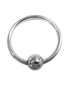 Rouge Stainless Steel Glans Ring w/Pressure Point Ball