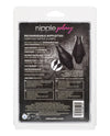 Nipple Play Rechargeable Nipplettes - Black