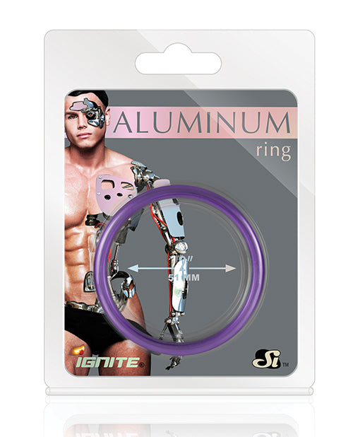 Aluminum Ring - Royal Purple 2""