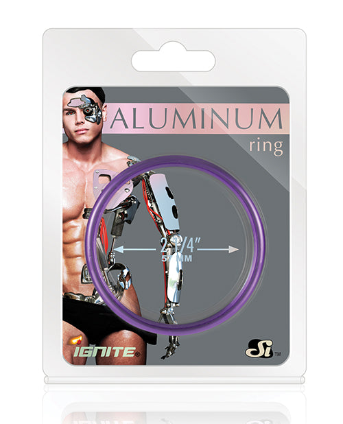 Aluminum Ring - Royal Purple 1.5""