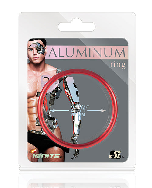 Aluminum Ring - Hellfire Red 2.25""