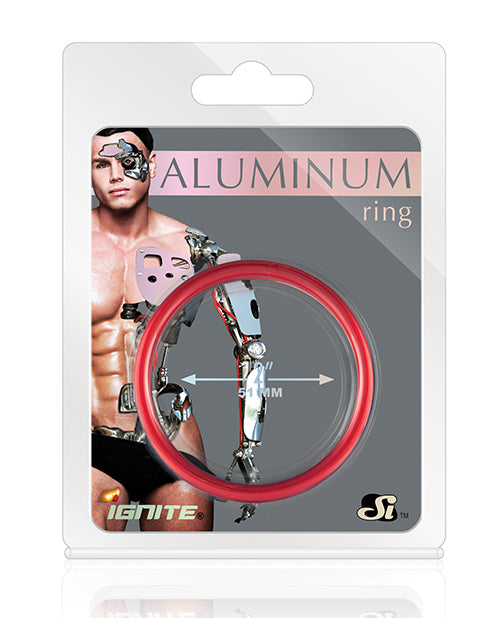 Aluminum Ring - Hellfire Red 2""