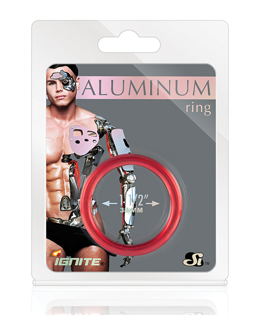 Aluminum Ring - Hellfire Red 1.5""