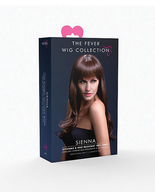 Smiffy The Fever Wig Collection Sienna - Brown