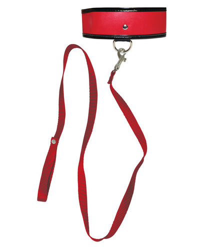 Sex & Mischief Leash & Collar - Red