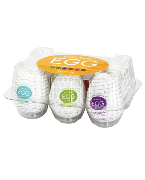 Tenga Egg Variety Display - 6 Colors A