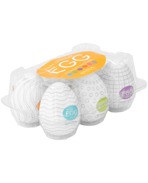 Tenga Egg Variety Display - Hard Boiled