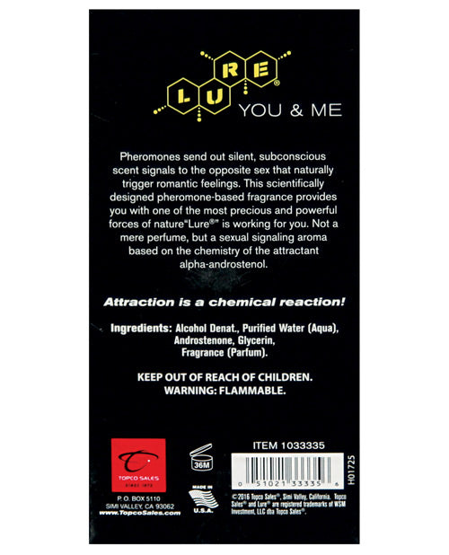 Lure Black Label for You & Me - 2.5 oz