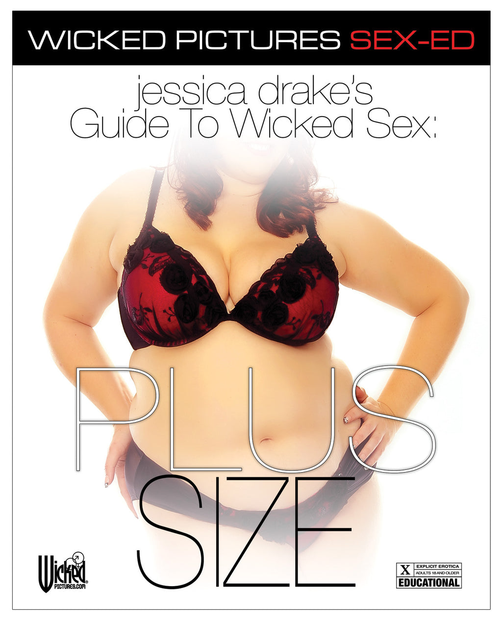 Jessica Drake's Guide to Wicked Sex - Plus Size - Dvd And Video Instructional - The Fallen Angel