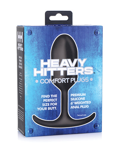 Heavy Hitters Premium Weighted Anal Plug - Large