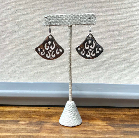 Kelly Earrings (Silver Tone)