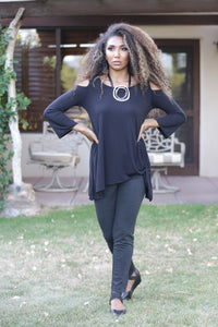 Dee Cold Shoulder Tunic
