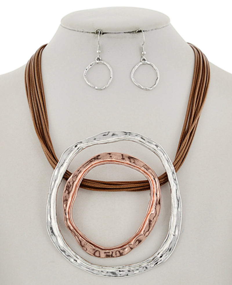Marcella necklace & earring set
