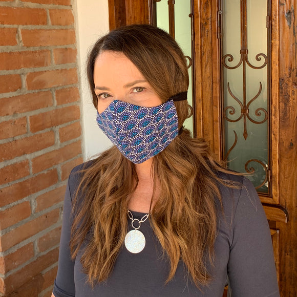 100% Cotton Reversible Mask