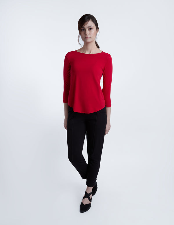 Sadie top 3/4 sleeve