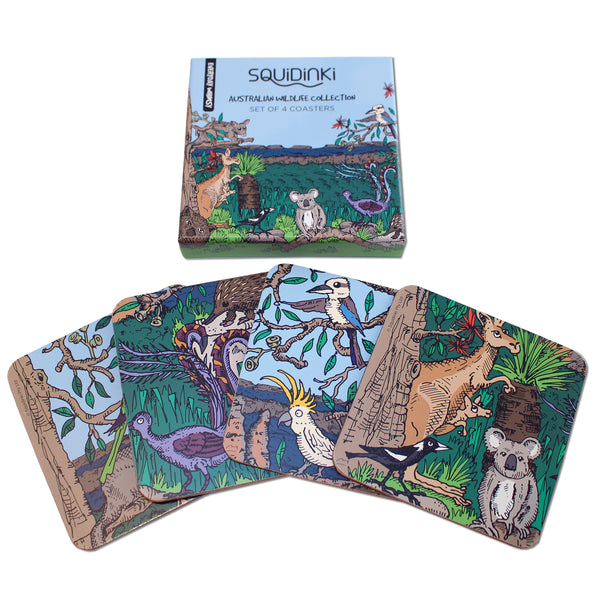 Coaster Sets: Australian Wildlife