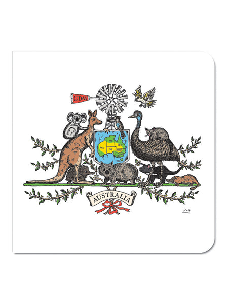 Greeting Card: Australian Icons