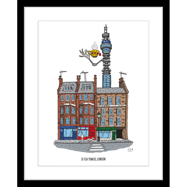 Art Print: BTea Tower London