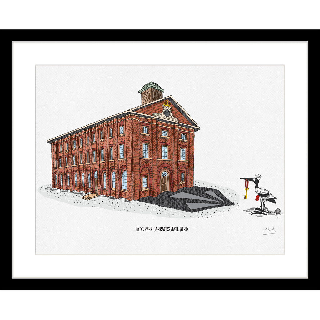 Limited Edition Print: Hyde Park Barracks