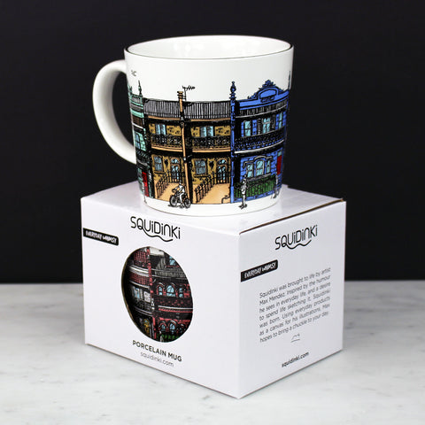 Porcelain Mug: Inner City