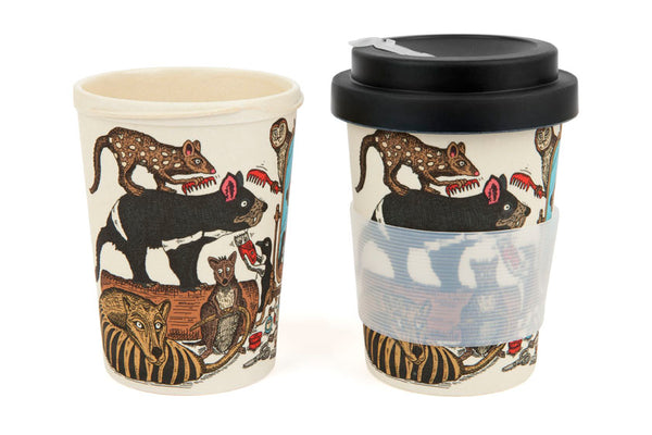 Eco-Bamboo fibre Keep Cups: You Handsome Devil