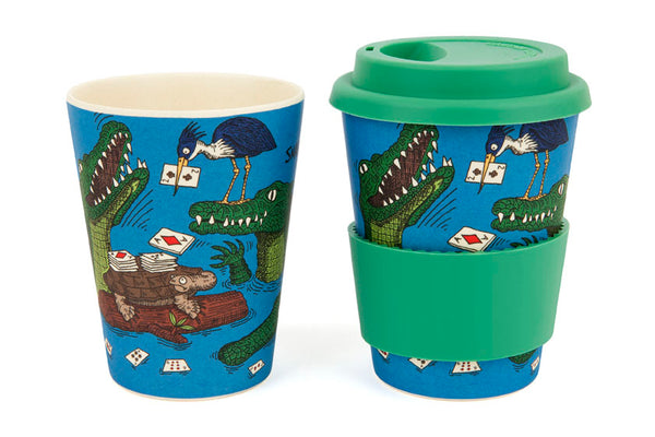 Eco-Bamboo fibre Keep Cups w/ silicon lid: Snap!