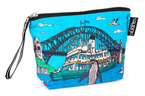 Cosmetic Bag: Sydney harbour
