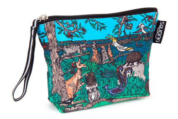 Cosmetic Bag: Australian Wildlife