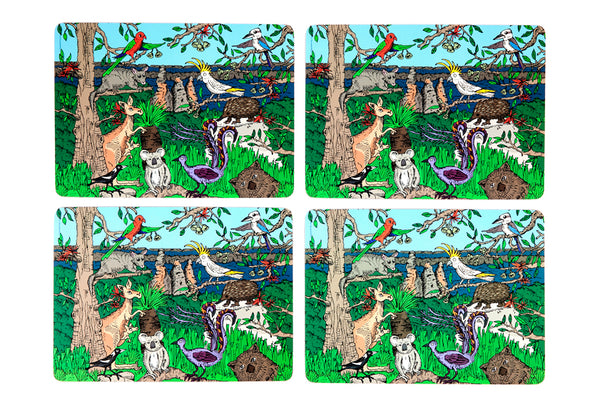 Placemat Set: Australian Wildlife Collection