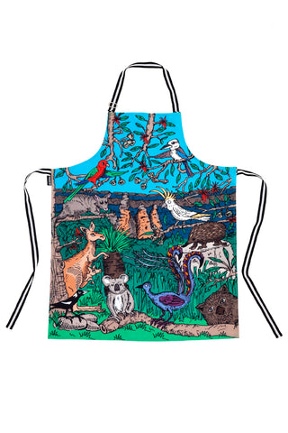 Cotton Apron: Australian Wildlife