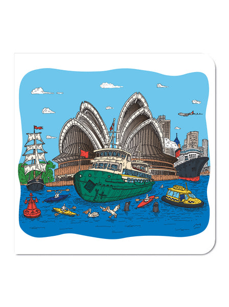 Greeting Card: Manly Ferry