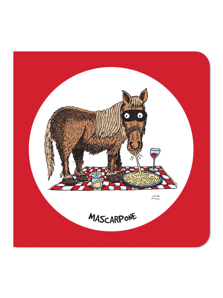 Mascarpone Greeting Card
