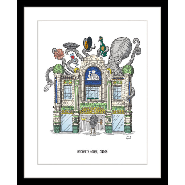 Art Print: The Michelin Building