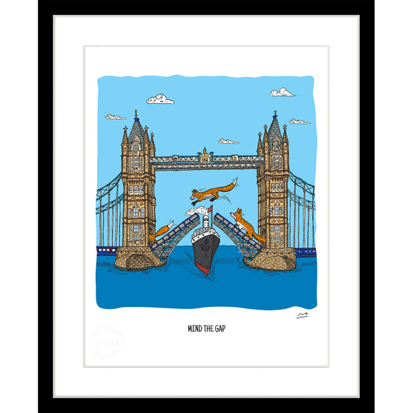 Art Print: Mind the Gap