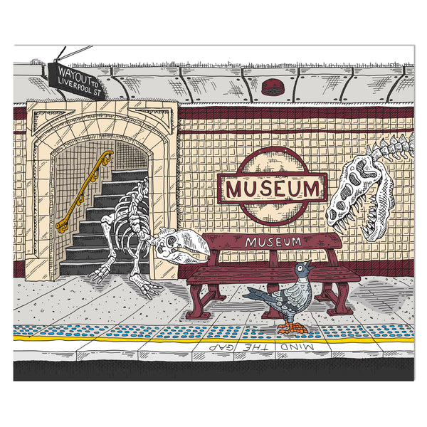 Large Canvas Prints: Museum Station
