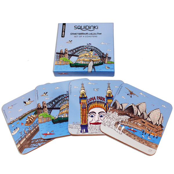 Coaster Sets: Sydney Harbour Collection