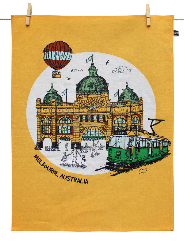 Melbourne Tea Towel