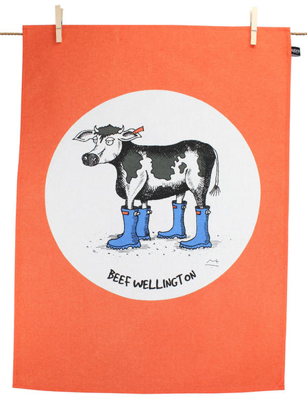 Beef Wellington Tea Towel
