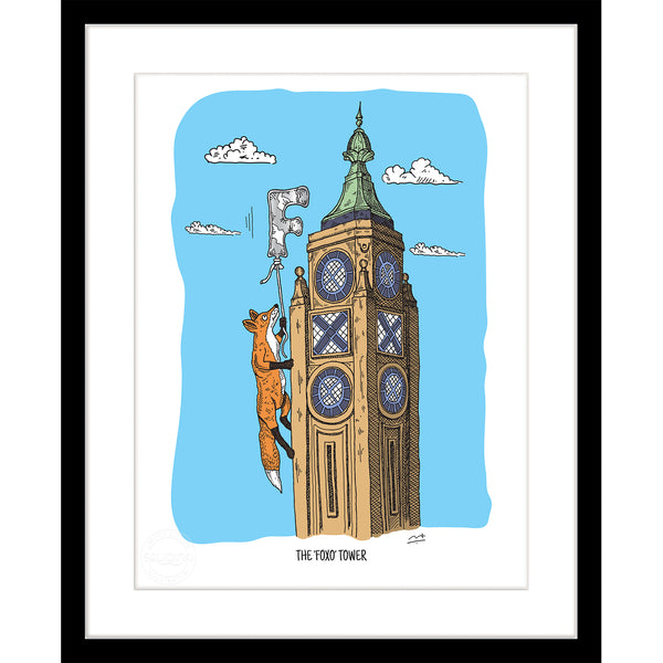 Art Print: The 'Foxo' Tower