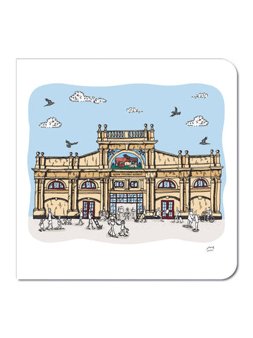 Victoria Markets Greeting Card