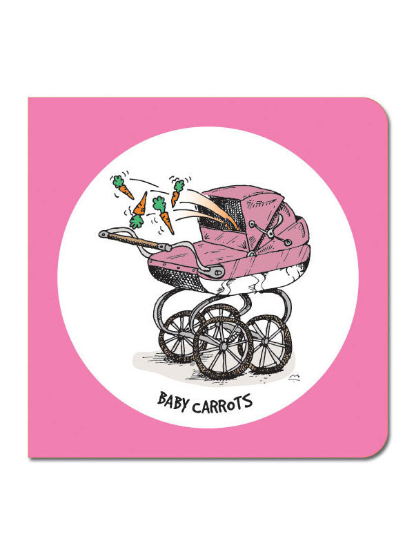 Baby Carrots Greeting Card