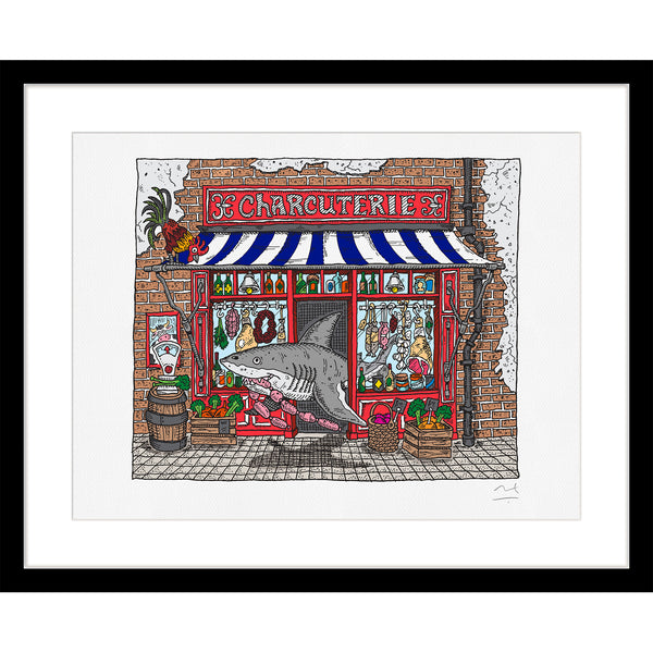 Limited Edition Art Print: Charcuterie