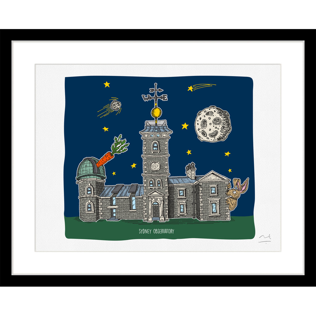 Limited Edition Print: Sydney Observatory