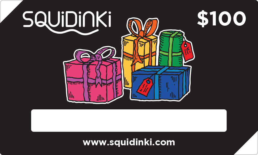 Squidinki $100 Gift Card