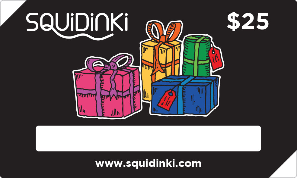 Squidinki $25 Gift Card