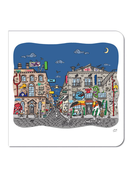 Laneways Greeting Card