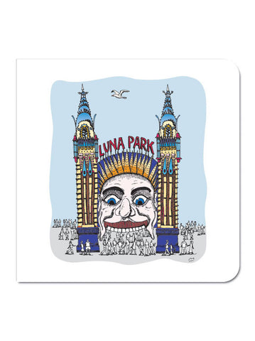 Sydney Luna Park Greeting Card