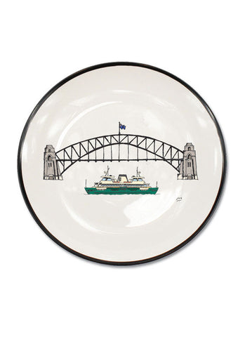 Sydney Harbour Bridge Canapé Plate
