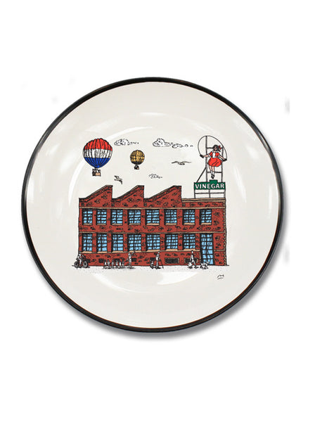 Skipping Girl Canapé Plate